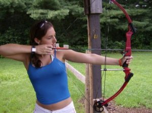 Archery at Camp Whitewood