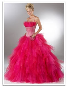 Pink Poofy Prom Dress - courtesy Google Images