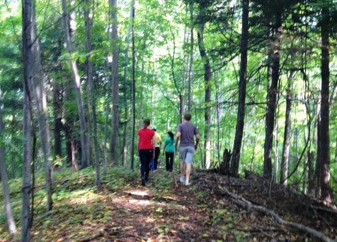 the wild child hiking
