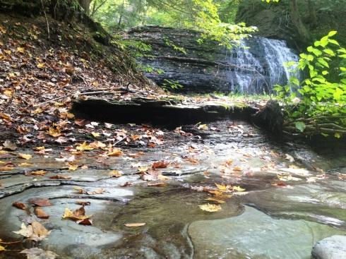 the wild child hiking waterfall