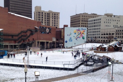the wild child ice skating akron