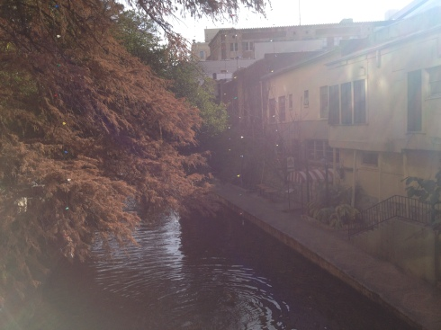 river walk san antonio morning