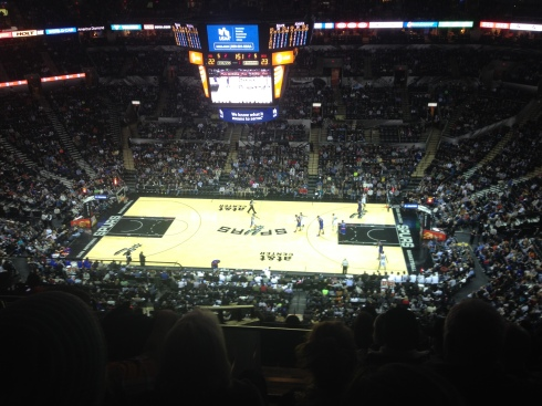 spurs game san antonio