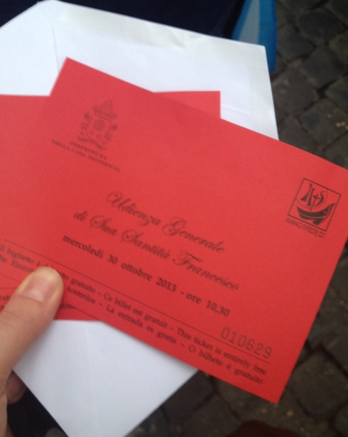 Tickets for the Papal Audience in Saint Peter's Square in Rome | www.the-wild-child.com
