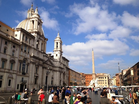Piazza Navona in Rome Italy | www.the-wild-child.com