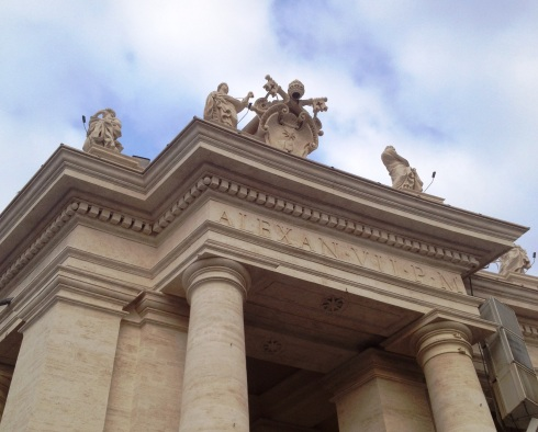 Saint Peter's Basilica in Rome Italy | www.the-wild-child.com
