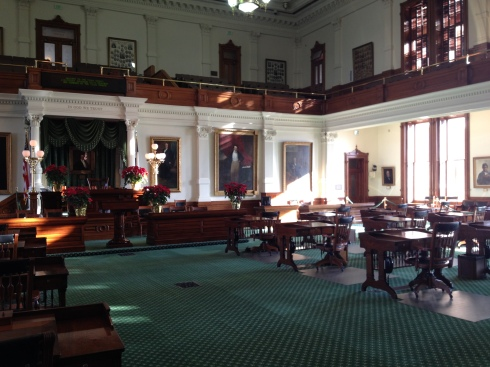 Inside the capitol building in Austin Texas | www.the-wild-child.com #austin