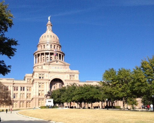 State Capitol in Austin Texas | www.the-wild-child.com #austin