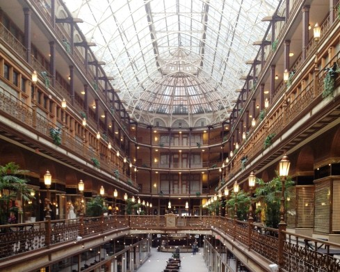 The Arcade | www.the-wild-child.com #cleveland