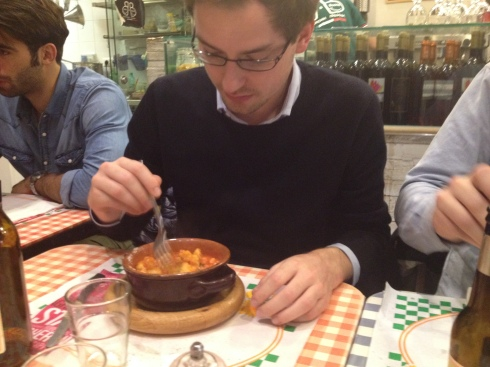 Eating Gnocchi #Milan #Italy | www.the-wild-child.com