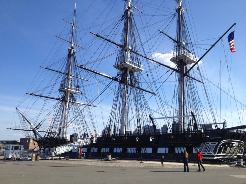 USS Constitution #Boston | www.the-wild-child.com