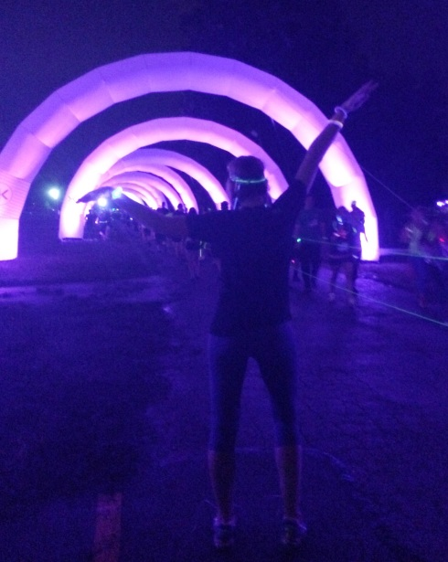 Electric Run #Cleveland | www.the-wild-child.com