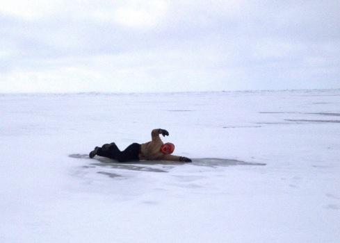 Lake Erie Frozen | www.the-wild-child.com