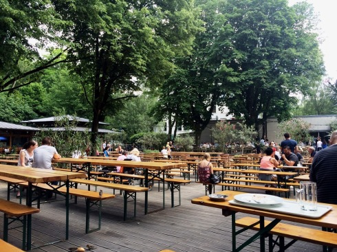 Biergarten in #Berlin  | www.the-wild-child.com