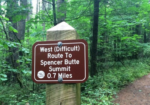 Spencer Butte difficult route| www.the-wild-child.com
