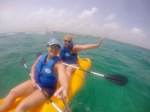 Finest Playa Mujeres Kayaking | www.the-wild-child.com