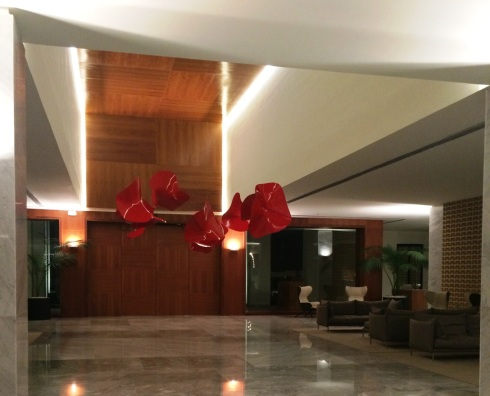 Finest Playa Mujeres Lobby | www.the-wild-child.com